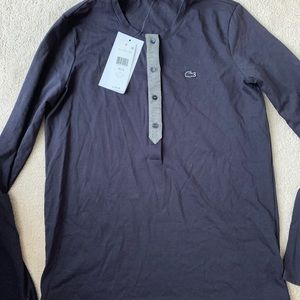 Lacoste long sleeve shirt